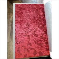 Sofa Red Designer Fabric