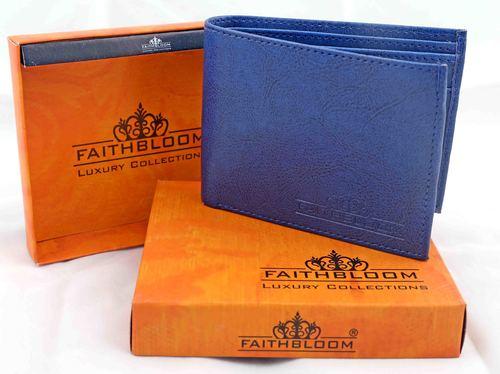 Gents blue wallet
