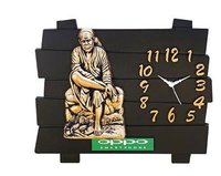 Wall Sai Baba Clock