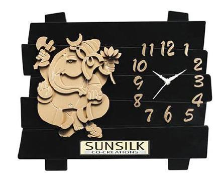 Sunsilk Ganesha With Clock
