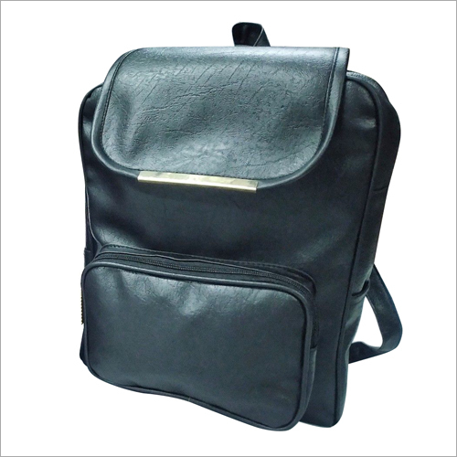 Plain PU Backpack