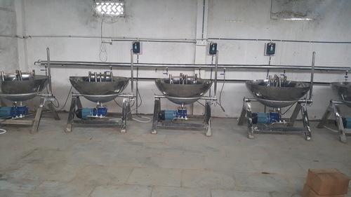 Steam Based Khoya Making Machine