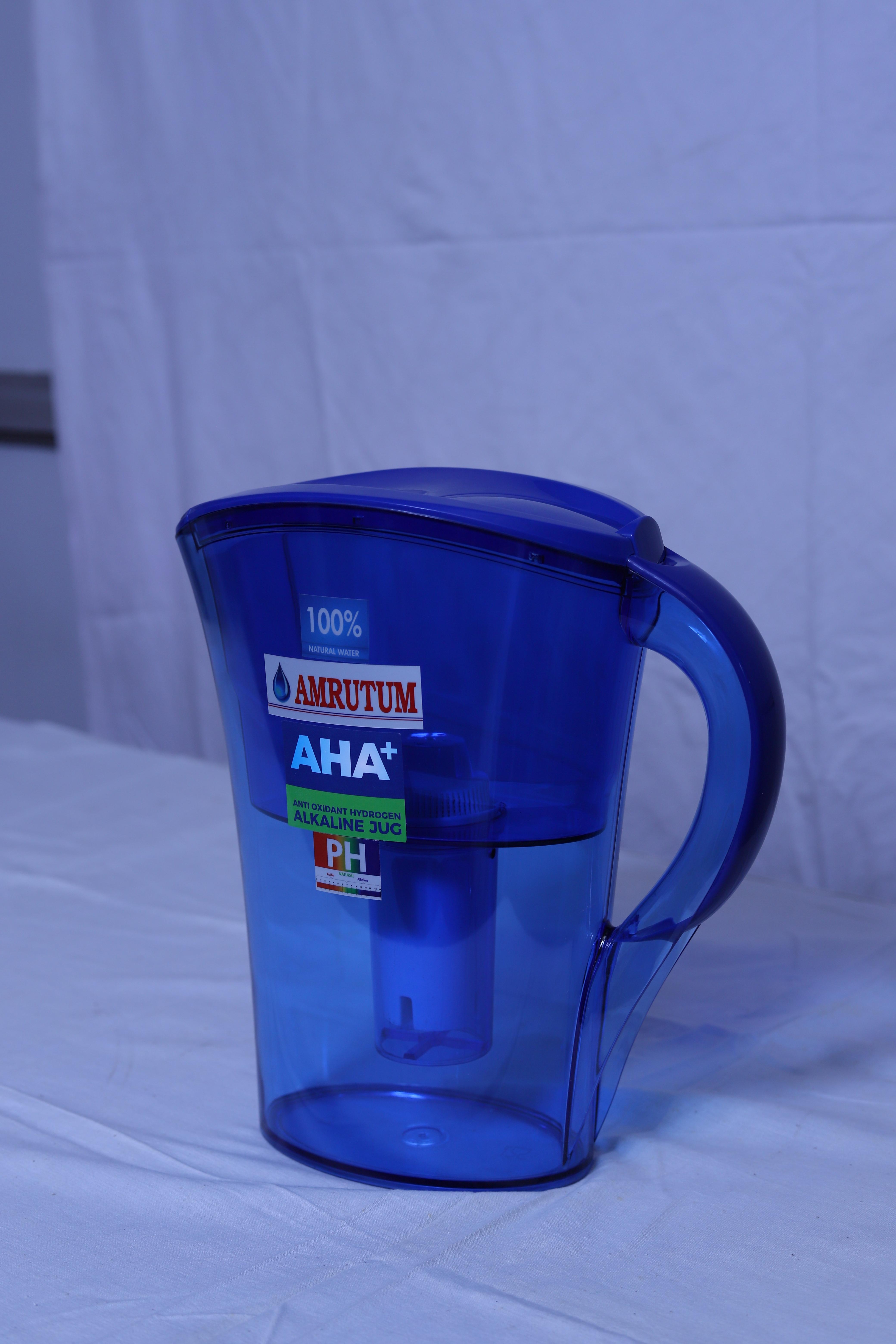 AMRUTUM Water Purifier Pitcher Blue Stylish Jug