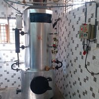 khoya making machine with wood fired steam boiler