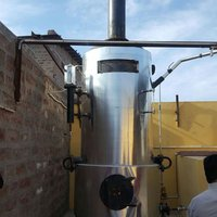 Khoya Making Machine With Wood Fired Steam Boiler