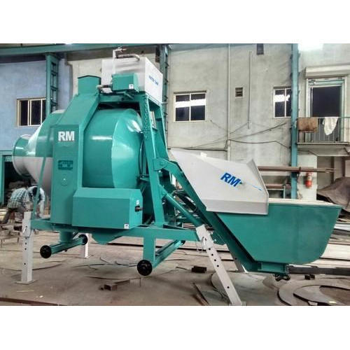 Reversible Drum Electric Concrete Mixer Machine