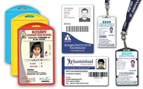 PVC Pasting ID Card