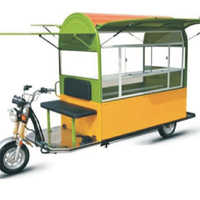Portable Shop E-Rickshaw