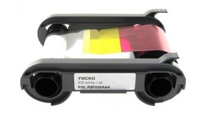 Evolis Full Panel YMCKO300 Printer Ribbon