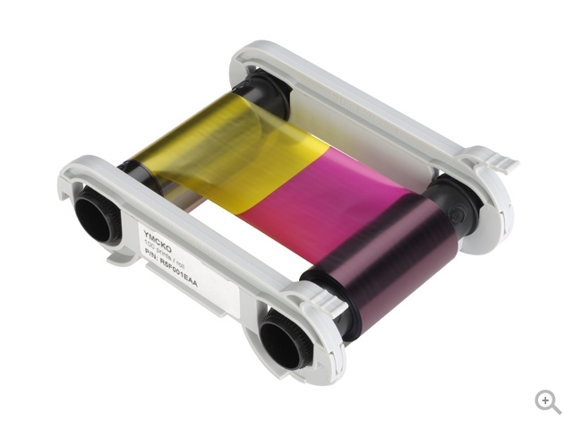 Evolis Half Panel YMCKOKO250 Printer Ribbon