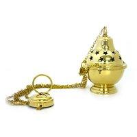 Brass High Quality Brass GOLD Censer By Brassworld India