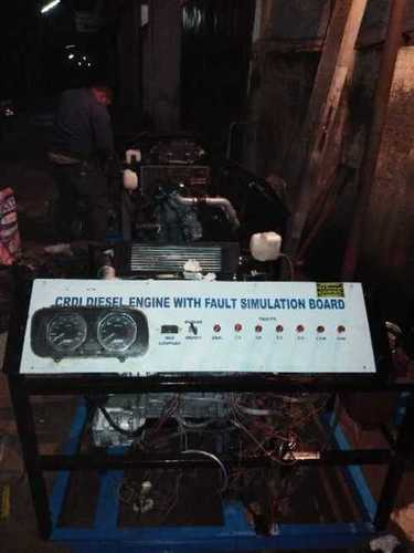 CRDI Diesel Engine With Fault Simulation Board