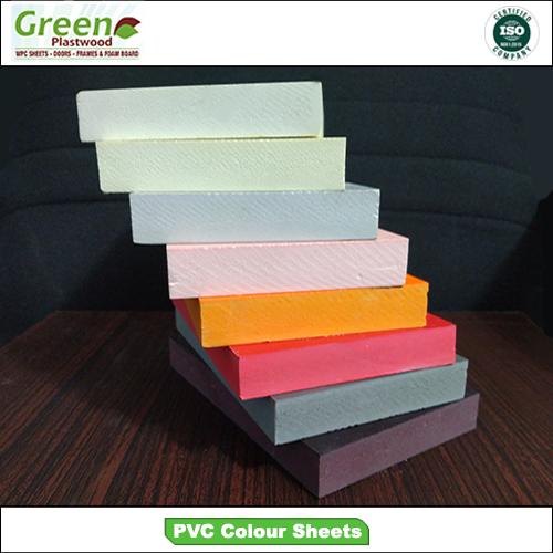 Pvc Color Sheet