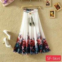 crepe skirts