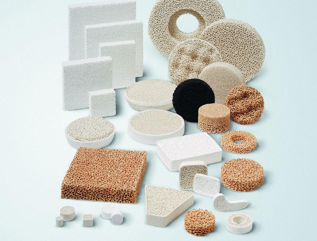 Alumina Ceramic Foam Filters for Aluminium Casting