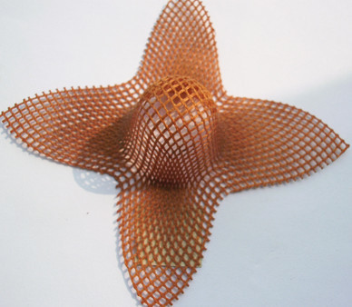 High Silica Fiberglass Mesh Filter for fountry use