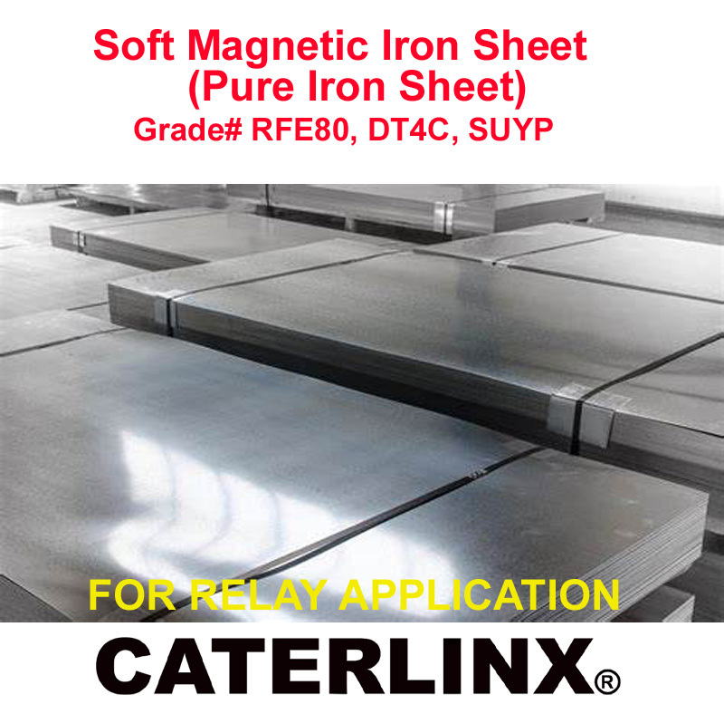 Soft Magnetic Iron(Pure Iron) Plates/Rods/Wires/Flats