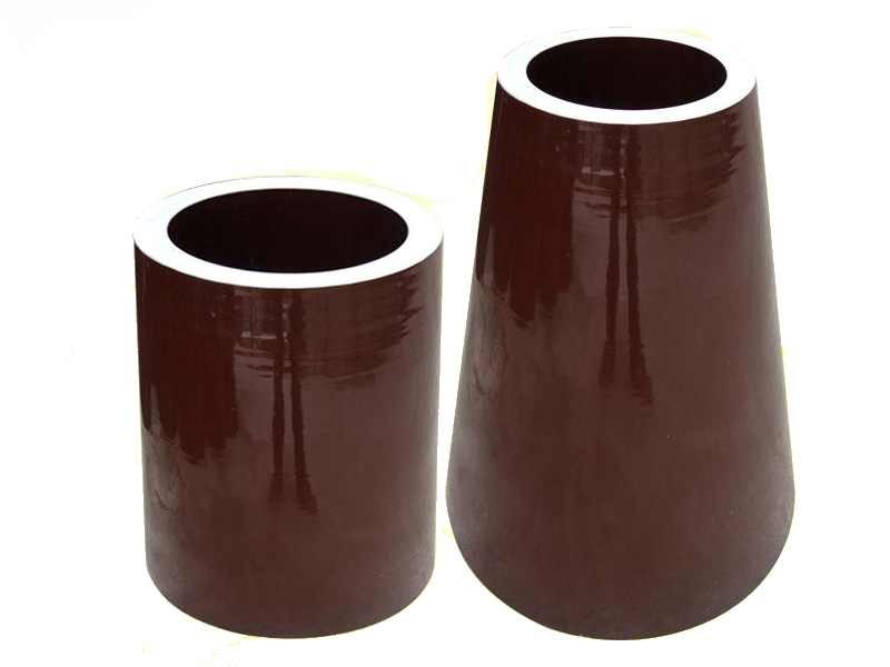 Cylindrical/Conical Support Insulator for ESP Use