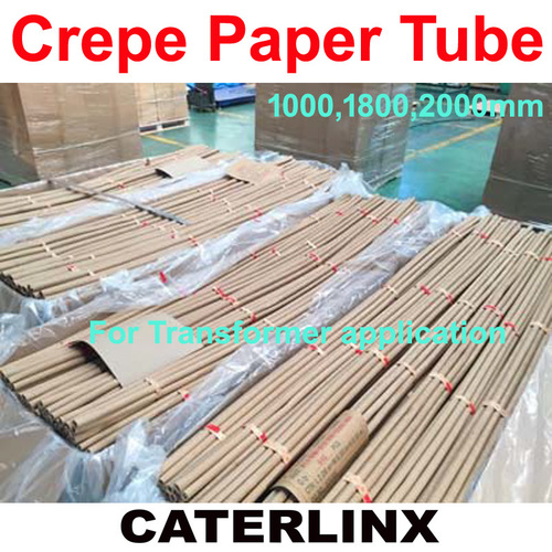 Crepe Paper Tube for transformer use