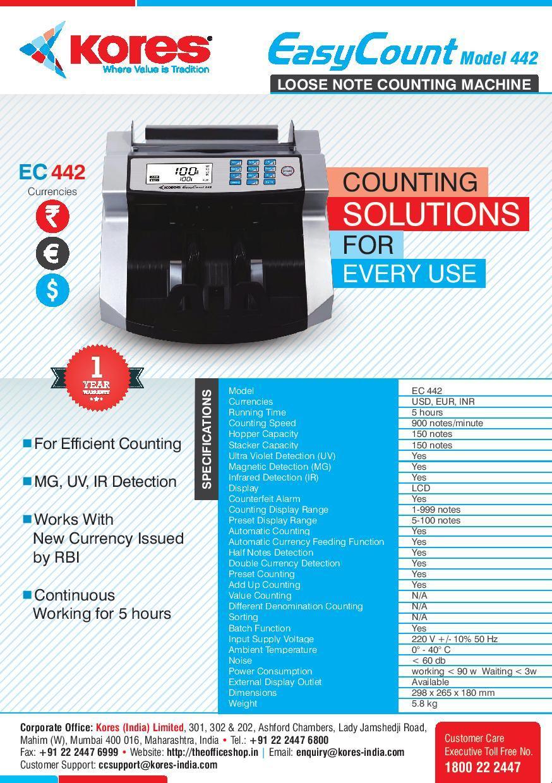 Kores Easy Count Model-442