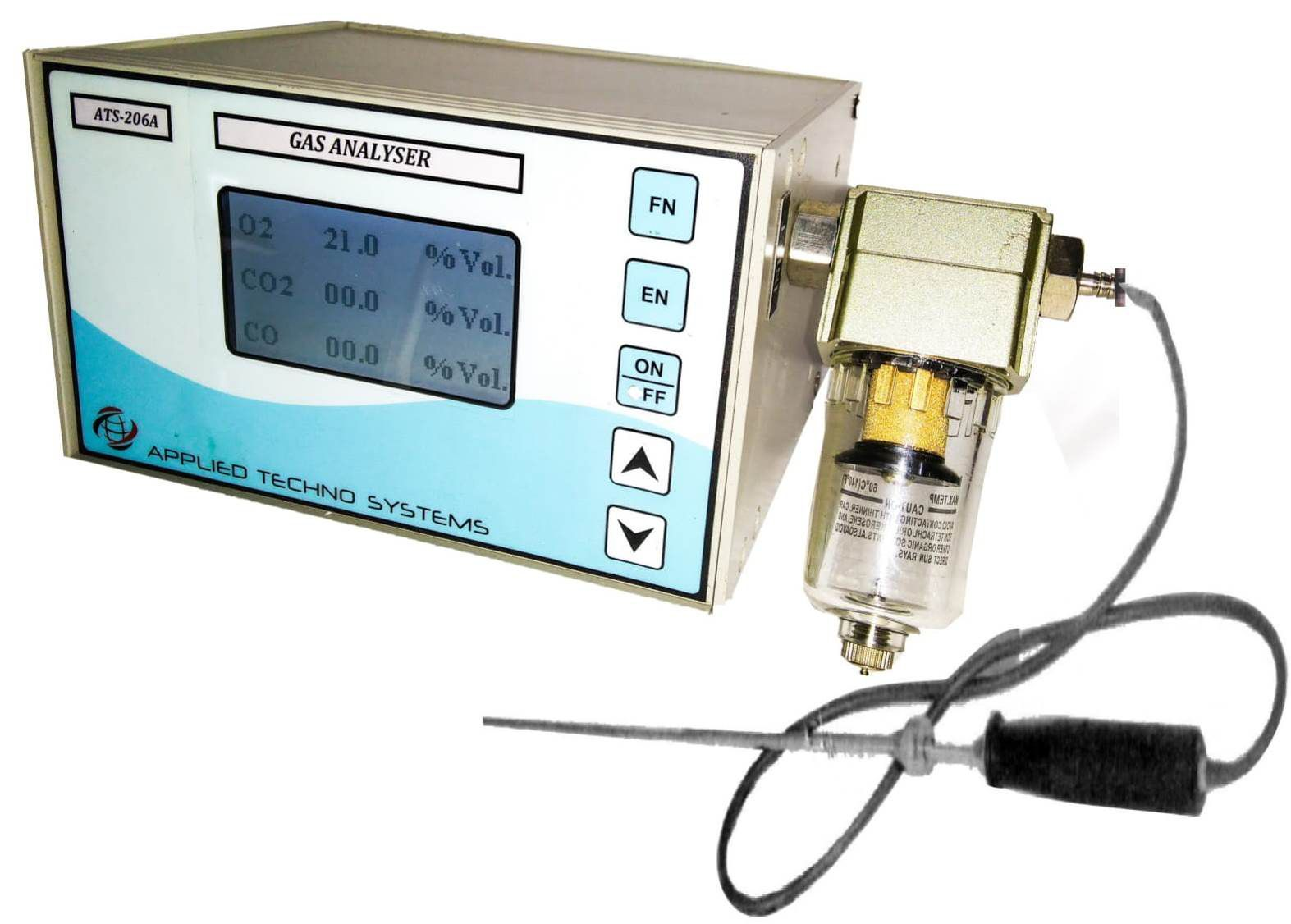 Industrial Multi Gas Detector