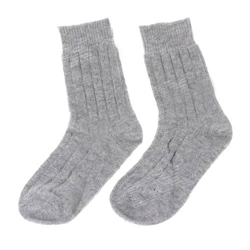 Gray Cotton Socks