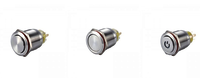 Metal Push Button Switch KEL2B-A 22F-11H