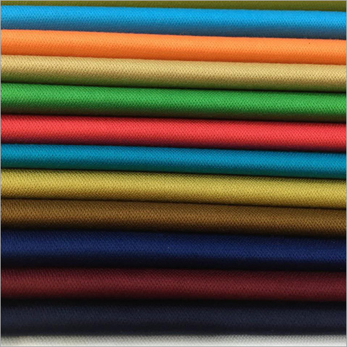 Plain Broken Cotton Shirting Fabric