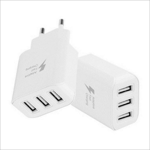 4 Amp 3 USB Ports Adapter
