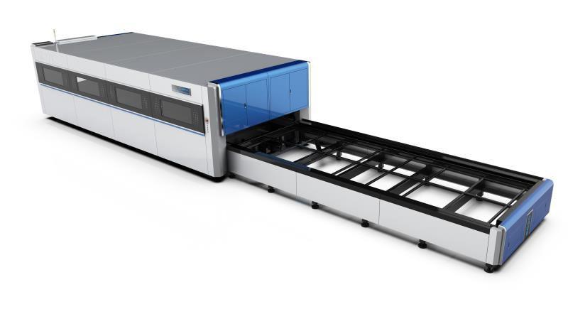 Whole Cover Fiber Laser Cutting Machine