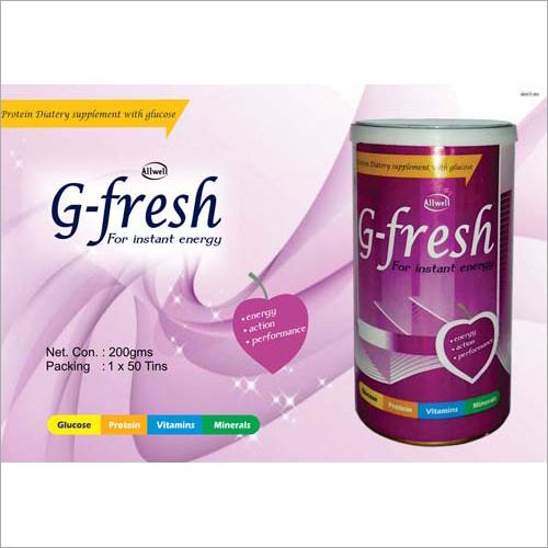 G-Fresh for Instant Energy