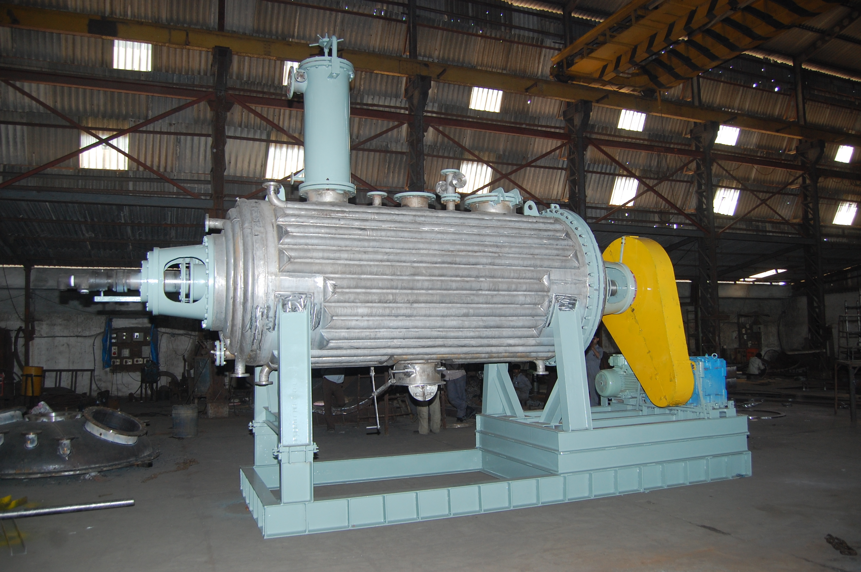 Rotary Vaccum Paddle Dryers (RVPD)