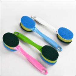 Long Handle Stainless Steel Brush Ball