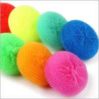 PP Ball Plastic Mesh Scourer