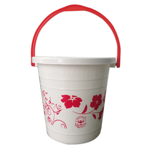 White Plastic Bucket