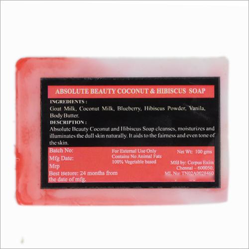 Coconut Hibiscus Soap