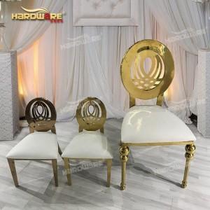 gold banquet chair