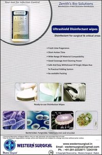 ULTRASHIELD DISINFACTANT WIPES