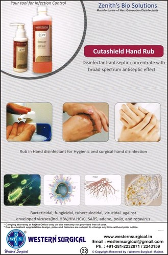 Cutashield Hand Rub