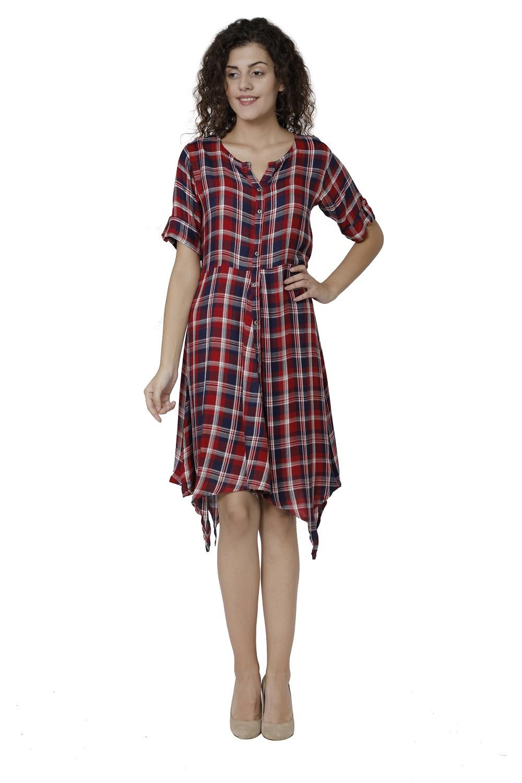 Cotton Western Dress