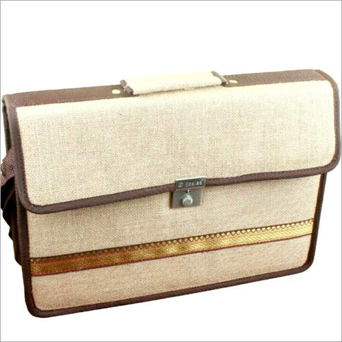 Jute Office Laptop Bag