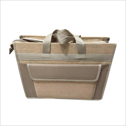 Mens Jute Laptop Bag