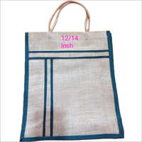 12 Inch Jute Lunch Bag