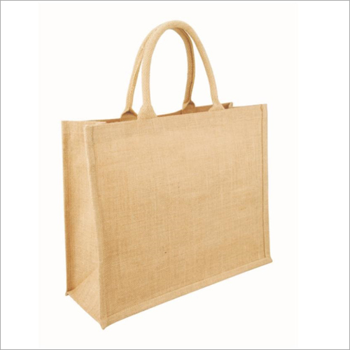 Jute Plain Lunch Bag