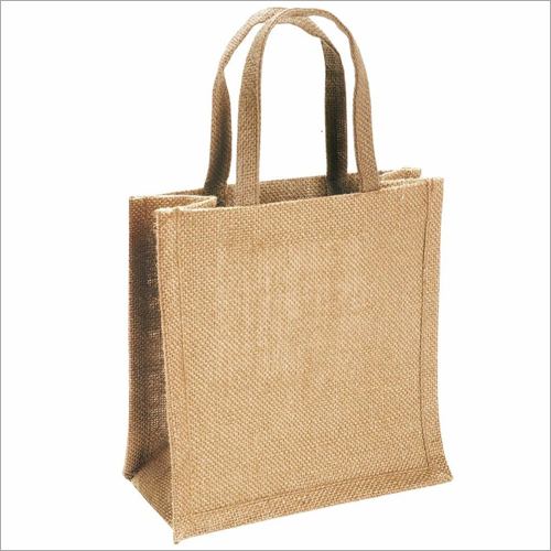 Jute Handle Lunch Bag