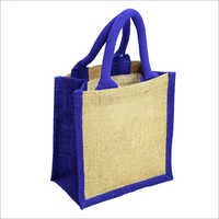 Jute Mini Lunch Bag