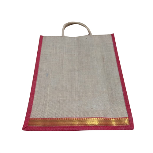 Jute Cotton Lunch Bag