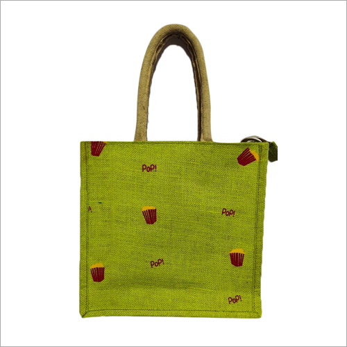 Jute Fancy Lunch Bag