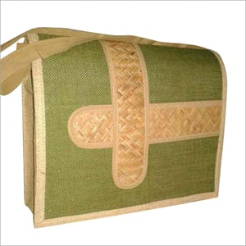 Jute Printed Sling Bag