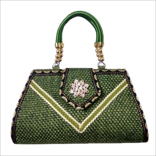 Ladies Fancy Jute Hand Bag